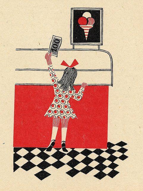 Prague 1962. Illustrated by Jitka Kolínská.