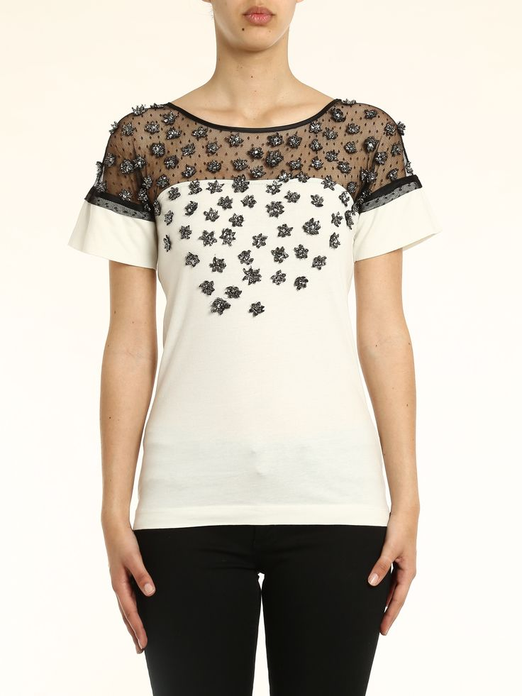 Image result for t-shirt+lace