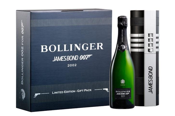 La champagne de James Bond.
