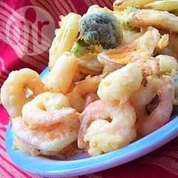 Tempura Prawns @ allrecipes.com.au