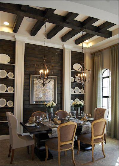 Inspiring Rooms: Rustic Dining Room