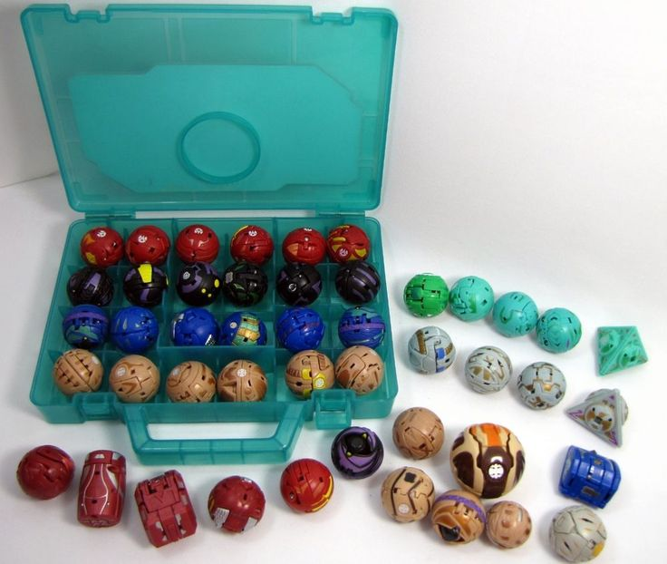 Bakugan Battle Brawlers Lot of 45 with Case TMS Entertainment Japanese Anime