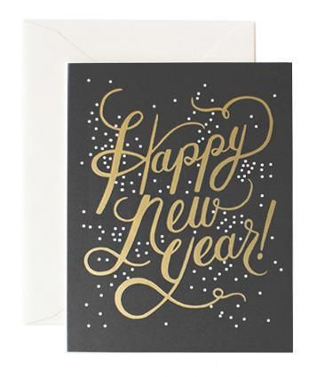Shimmering New Year / Rifle Paper Co.
