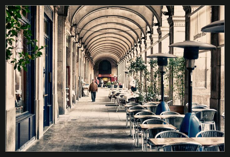 Cafes at Plaza Real, Barcelona