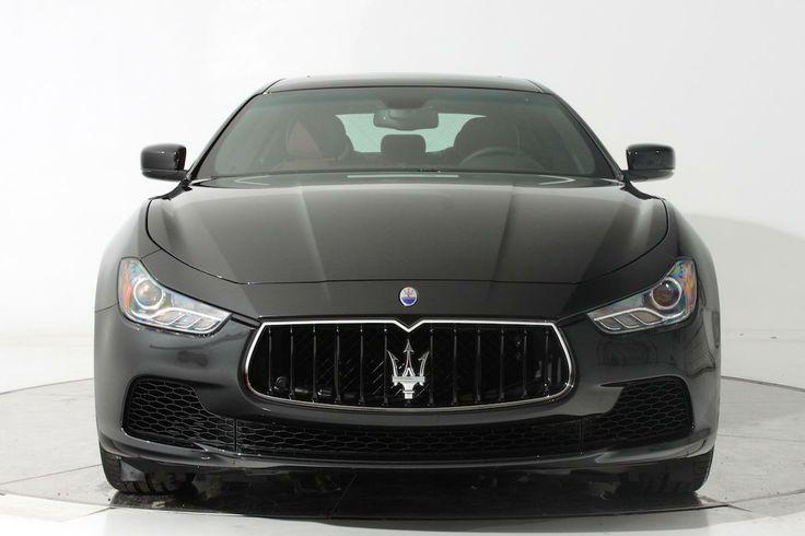 2014 Maserati Ghibli Base Base 4dr Sedan 4 Doors Black for sale in Fort lauderdale, FL Source: http://www.usedcarsgroup.com/new-maserati-for-sale