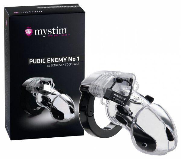 Mystim Pubic Enemy No. 1 - transparent