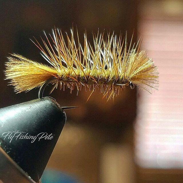 CDC dyret. #flyfishing #flytying #flytyingaddict #flytyingjunkie #fluebinding #flugbindning #dryfly #dryordie #troutfood #troutfishing #caddis #caddisfly #tyingflies #barbless #moonlitflyfishinghooks #whitingfarms