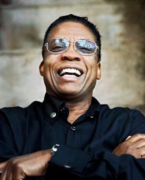Herbie Hancock-was one of the first jazz musicians to embrace music synthesizers and funk music