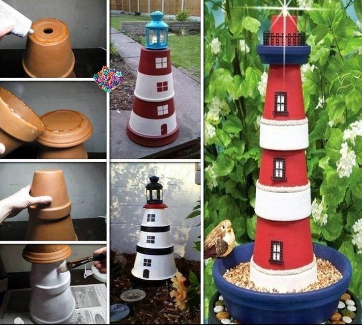 Diy idea para hacer un comedero para pajaros y decorar el - Ideas para hacer un jardin ...