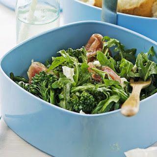 Arugula, Broccoli and Pesto salad