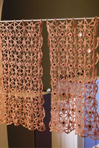 looking glass curtains crochet me