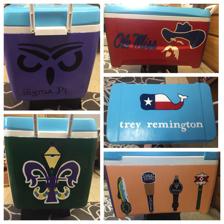 Ole Miss Fraternity cooler