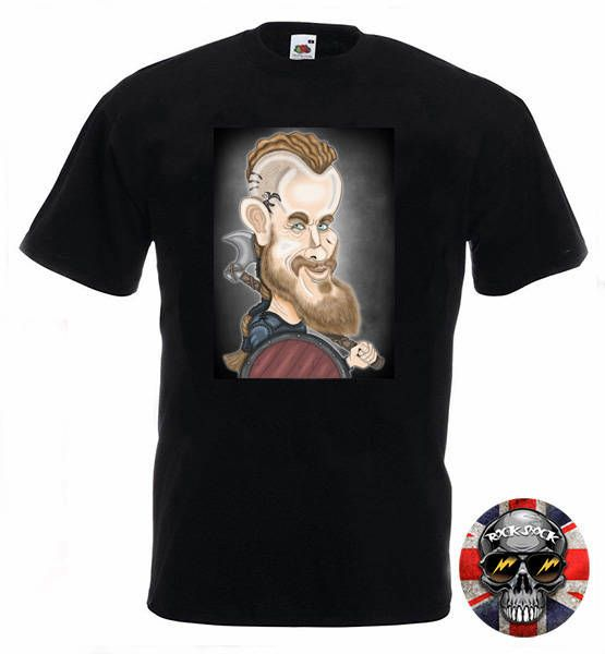Viking Caricature TShirt Check out this item in my Etsy shop https://www.etsy.com/uk/listing/513482244/viking-king-caricature-men-t-shirt #vikingscaricature #ragnarcaricature #ragnartshirt #valhallatshirt #lothbroktshirt #vikingcaricature #vikingdrawing #caricaturist