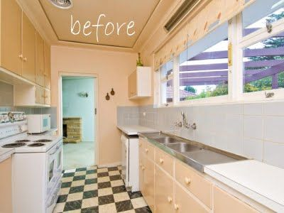 8 best galley kitchen ~ before & after images on pinterest