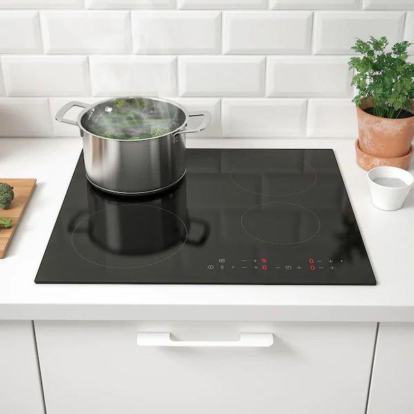matmÄssig table de cuisson induction  noir  ikea