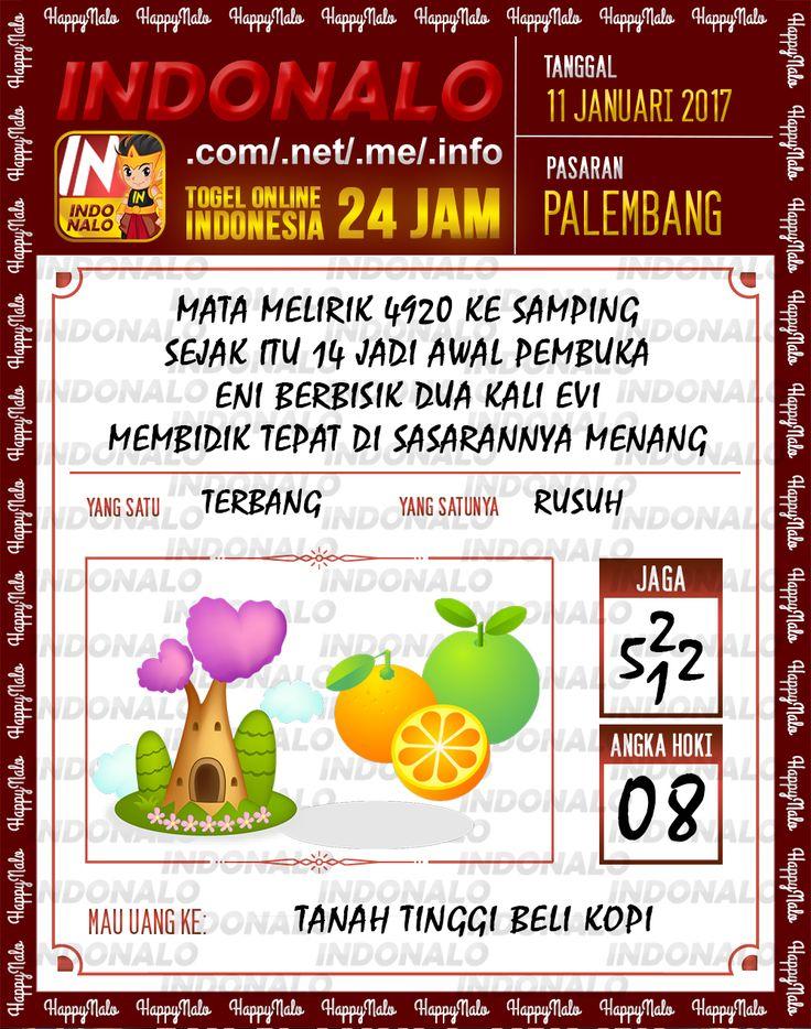 Kode Kumat 3D Togel Wap Online Live Draw 4D Indonalo Palembang 11 Januari 2017
