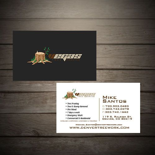 20 best tree service business cards images on pinterest business vegas tree trimming service tree trimming servicebusiness card colourmoves