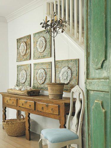 beautiful entry: Decor, Wall Art, Ideas, Interior, Color, House, Design, Entryway