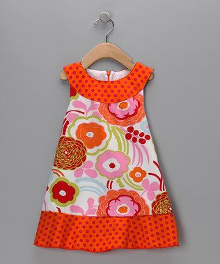 Lovely little girls dress.  Do you have a favourite dress that no longer fits since you slimmed down.  Well how about putting it to good use with this simple design.