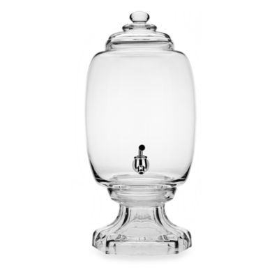Godinger Dublin Crystal Westbury 3-Gallon Beverage Dispenser - BedBathandBeyond.com