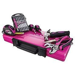 craftsman pink tool box | The Original Pink Box Homeowners Tool Set review | buy, shop with ...