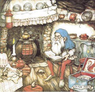 Anton Pieck. Deze afbeelding staat op mijn sprookjesboek van de Efteling.