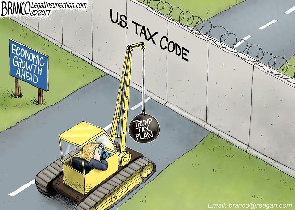 POSIBLE? | Apr/27/17 Cartoon by A.F.Branco - Tear Down This Wall