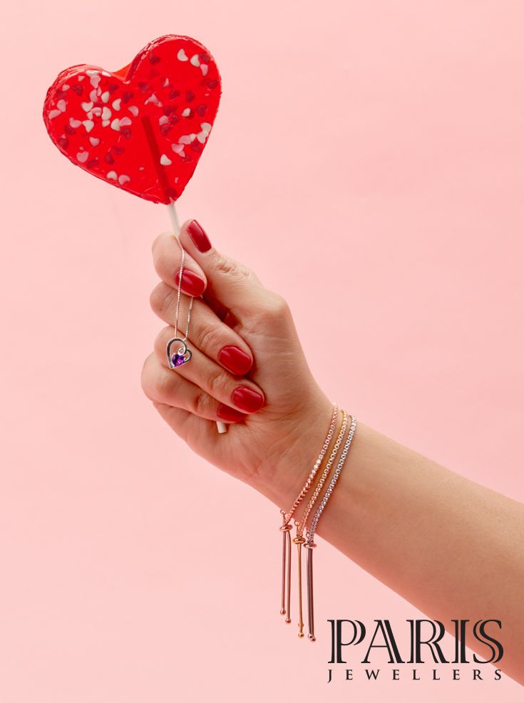 For the Sweet Ones in your Life shop Paris Jewellers for Valentine's Day!
