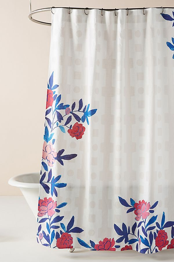 Shower Curtain Liner Floral Shower Curtains Curtains
