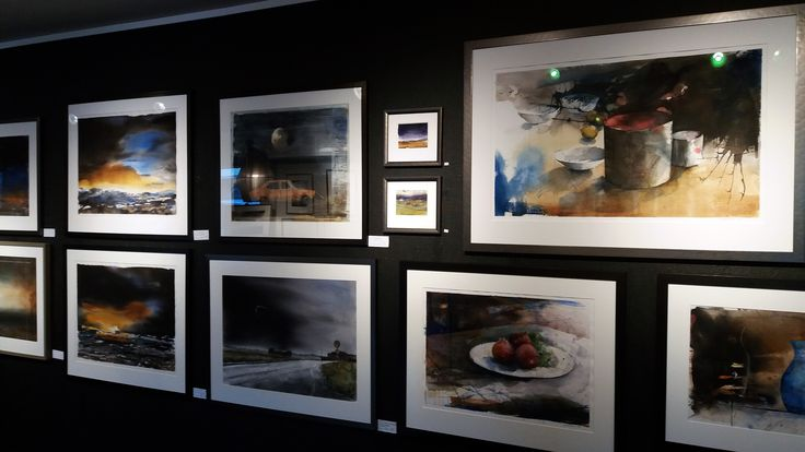 Watercolors by Stig-Ove Sivertsen at Galleri SOS.