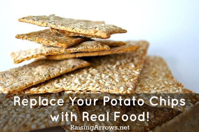 Replace Those Potato Chips with Real Food! (Healthy snack ideas, some THM) | RaisingArrows.net