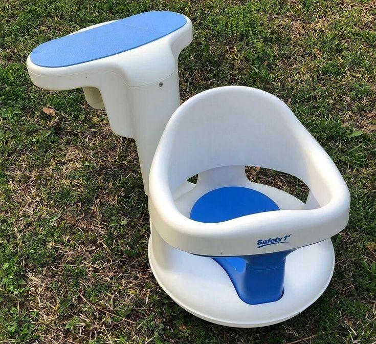 Safety 1st Bathtub Seat Tubside Swivel Baby Bath Ring