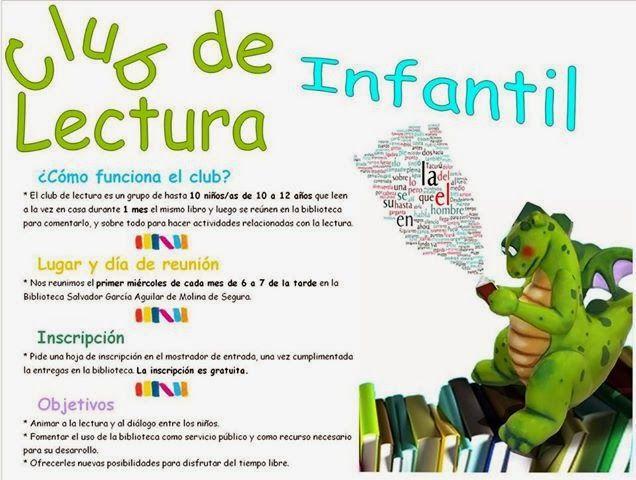 Club de Lectura Infantil: Nuevo Club de Lectura