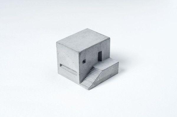 Miniature Concrete Home #7  Price : €31 Euro