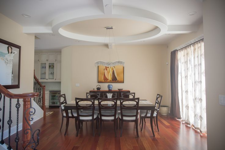 Create a circular soffit with Trim-Tex Chamfer 350 Archway Bead