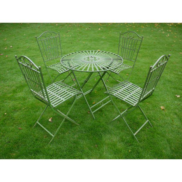 buy green 4 seater dining set green patio set swanky interiors