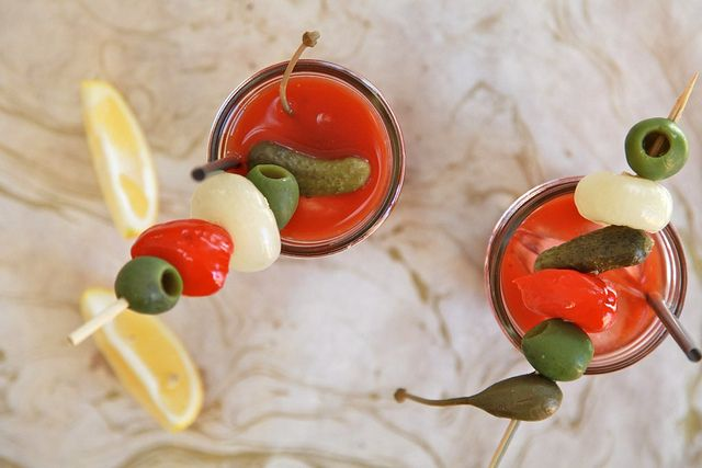 Bloody Mary Bites.....