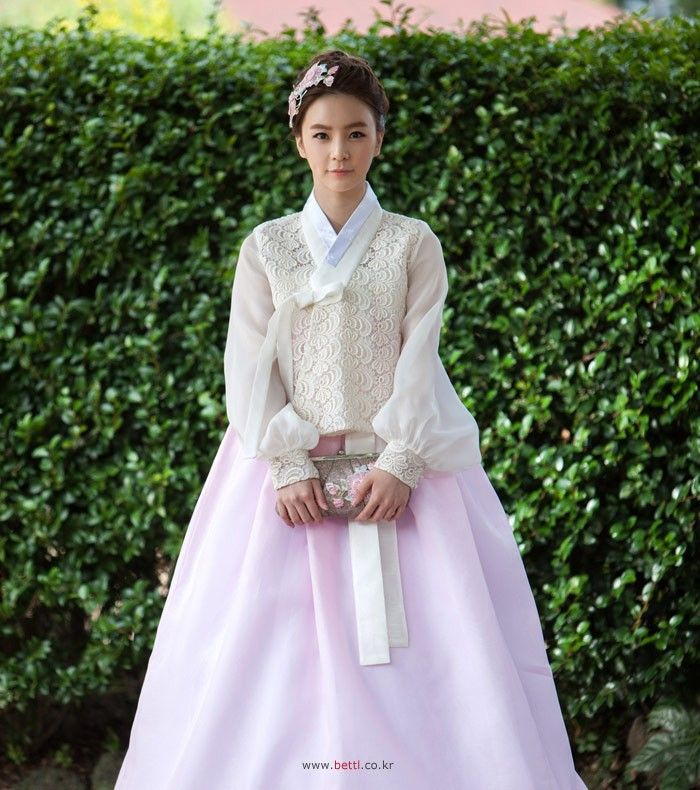 Gorgeous fusion bridal 한복 Hanbok / Traditional Korean dress