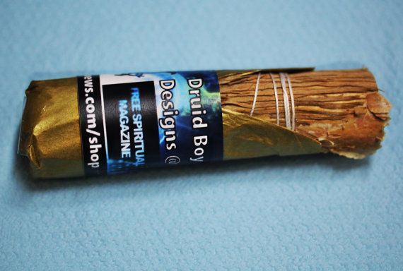 Smudge Stick Purification Australian Paper Bark by DruidBoyDesigns