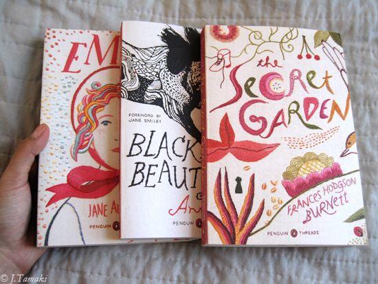 Bitch illustrator Jillian Tamaki did these beauties.