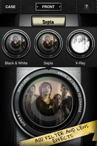 Super 8. Create cool, retro videos, including scratched film effects, credits, titles, more.