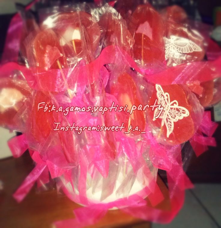 Handmade lollipops crown, tiaras and butterflies... And do not forget to make #likes, #Subscribe, #follows and #comments .. Thank you..❤️❤️❤️❤️ Good morning ... Good morning world !!! ❤️❤️🍭🍭❤️❤️ Fb: k.a.gamos.vaptisi.party Instagram: sweet_k.a._  https://xiropiitesglikesapolafsiska.blogspot.gr