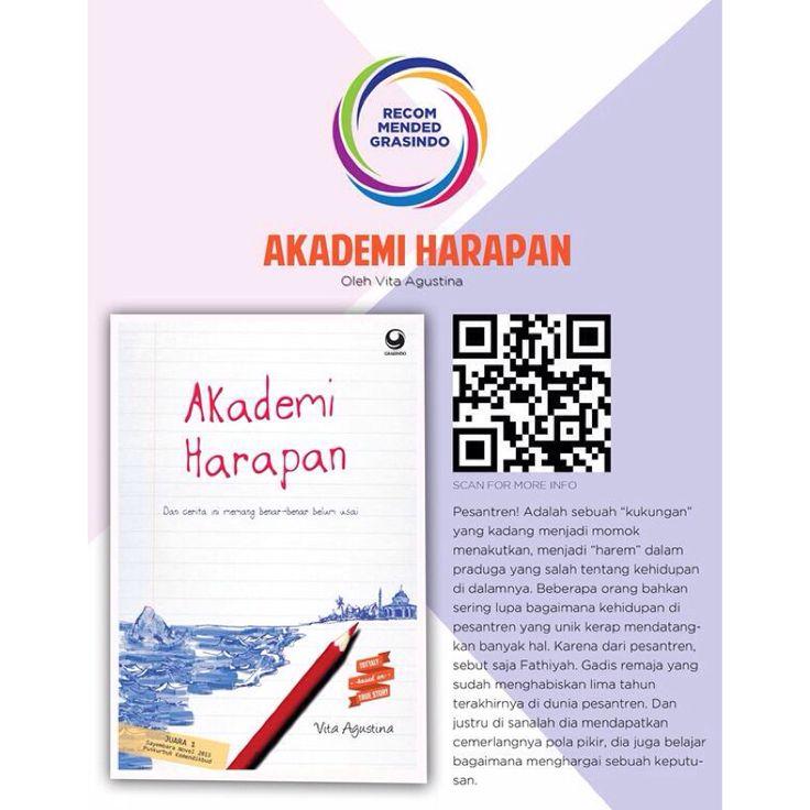 "#RecommendedBook ""Akademi Harapan"" by Vita Agustina | Available at @grasindo_id 021-53650110 http://bit.ly/akademiharapan"