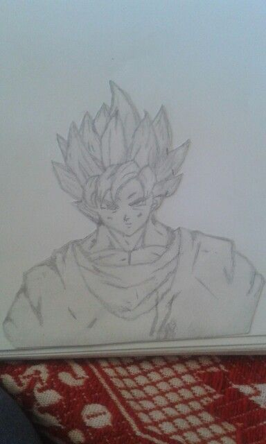 My Goku super sayian two (second photo)