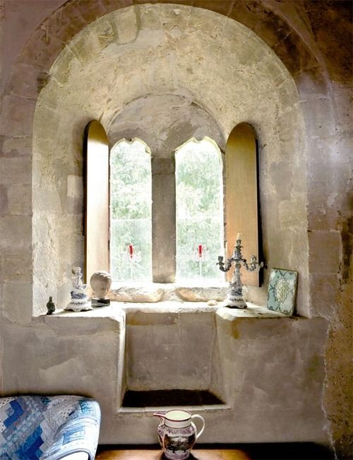 stone beautiful: Favorite Places, Doors Windows And Gorgeous, Magical Windows, Window Seats, Room