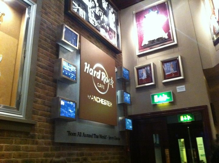 Hard Rock Cafe Manchester in Manchester