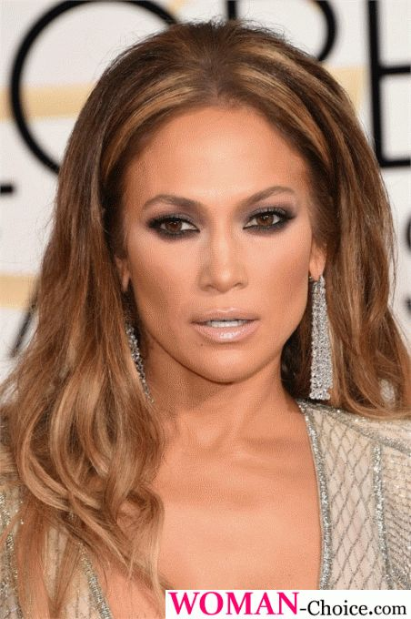 Makeup smoky eyes like JLo!