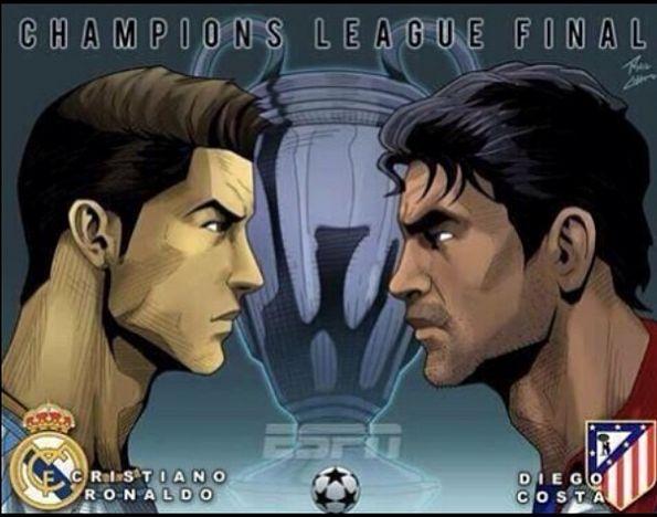 Que tal la promo que sacaron en Europa por la Final de Champions ,... Fantástica vía @manugalea_com