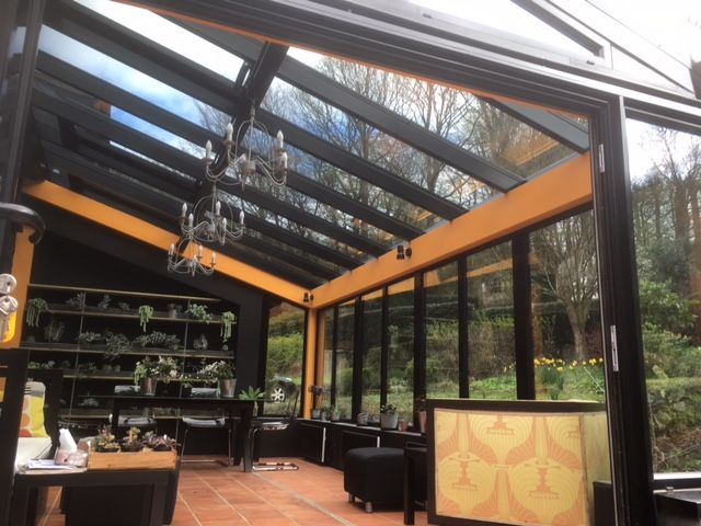 Howells supply and install contract entitled 'Devauden' great alternative to a standard conservatory