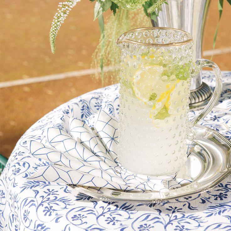 HAVI'S Indigo Flower pattern #indigo #interior @havishome #havis1829 http://www.havis.fi/en/